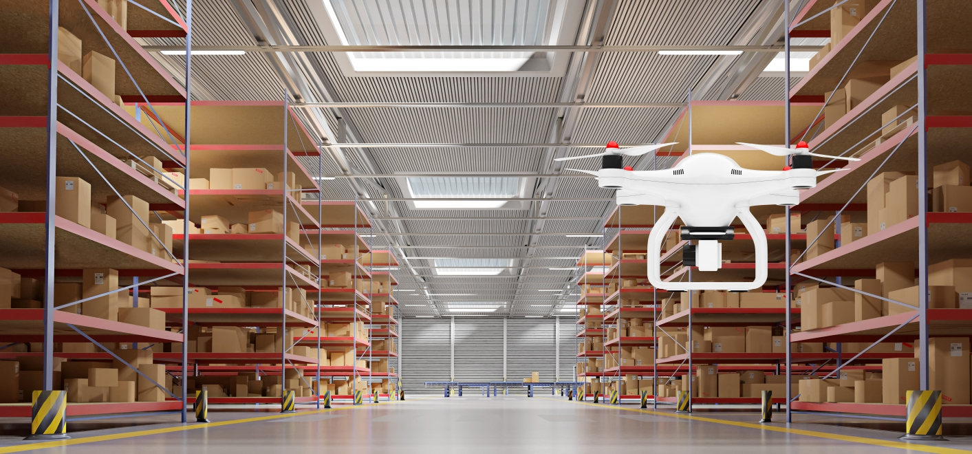 Drones and 5G: Building the Warehouses of the Future